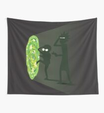 Rick and Morty - Portal Travel Tapestry