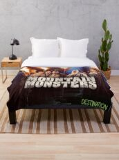 Mountain Monsters  Throw Blanket