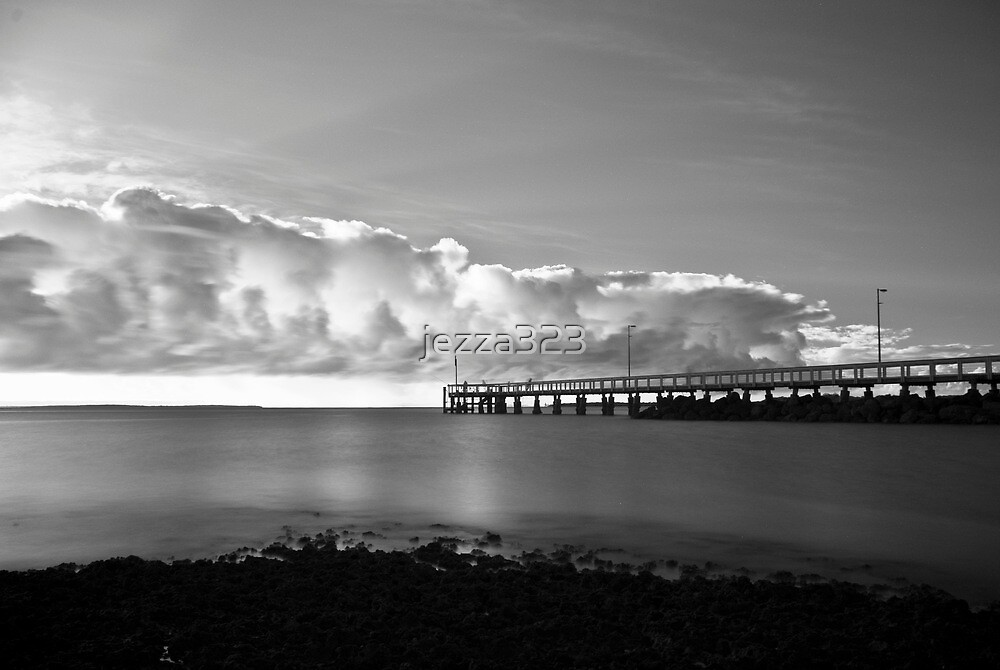 Wellington Point Pier by jezza323