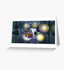 THE FRACTAL BALL Greeting Card
