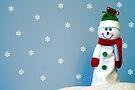 A Snowman by Mat Robinson
