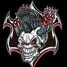 Motorhead Skull by StickaBomb