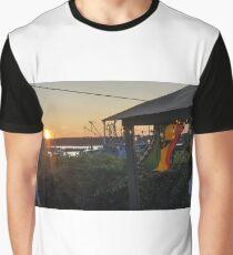 Sunset at Pilot House Restaurant & Lounge Graphic T-Shirt