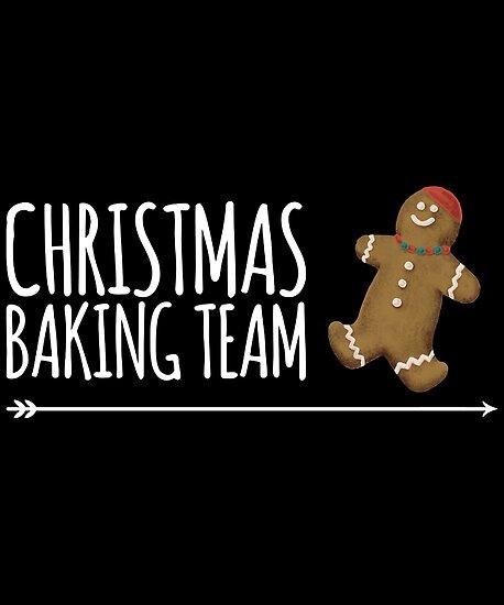Family Xmas Gift T-Shirt Cookies Christmas Baking Team Funny Couple Baker