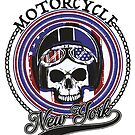 New York Motorcycle by StickaBomb