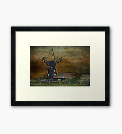 Sarre Windmill Framed Print