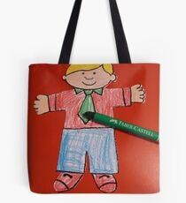 Flat Stanley Tote Bag