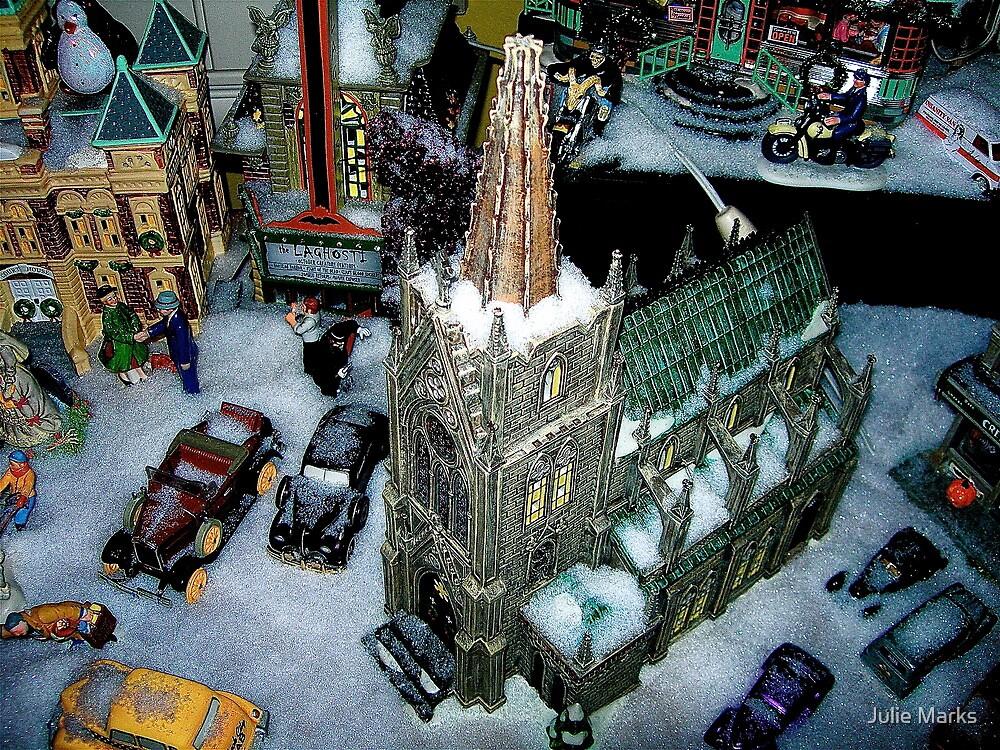 Snow Village by Julie Marks
