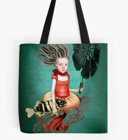 Die kleine Meerhexe Tote Bag