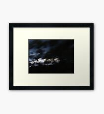 Life Blurring by Framed Print