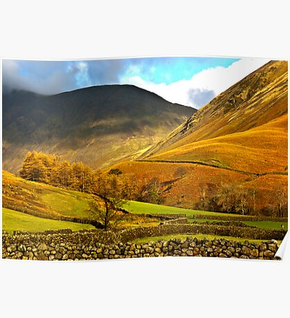Autumn in Wasdale - Lake District Poster