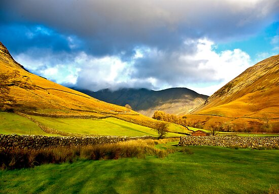 The Path through the Valley by Trevor Kersley