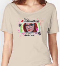 LIP GLOSS BOOST Women's Relaxed Fit T-Shirt