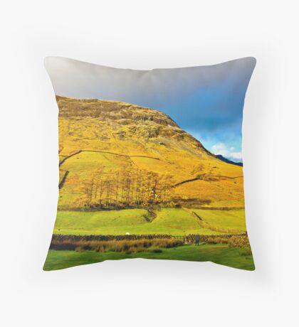 Wasdale Head - Lake District Throw Pillow
