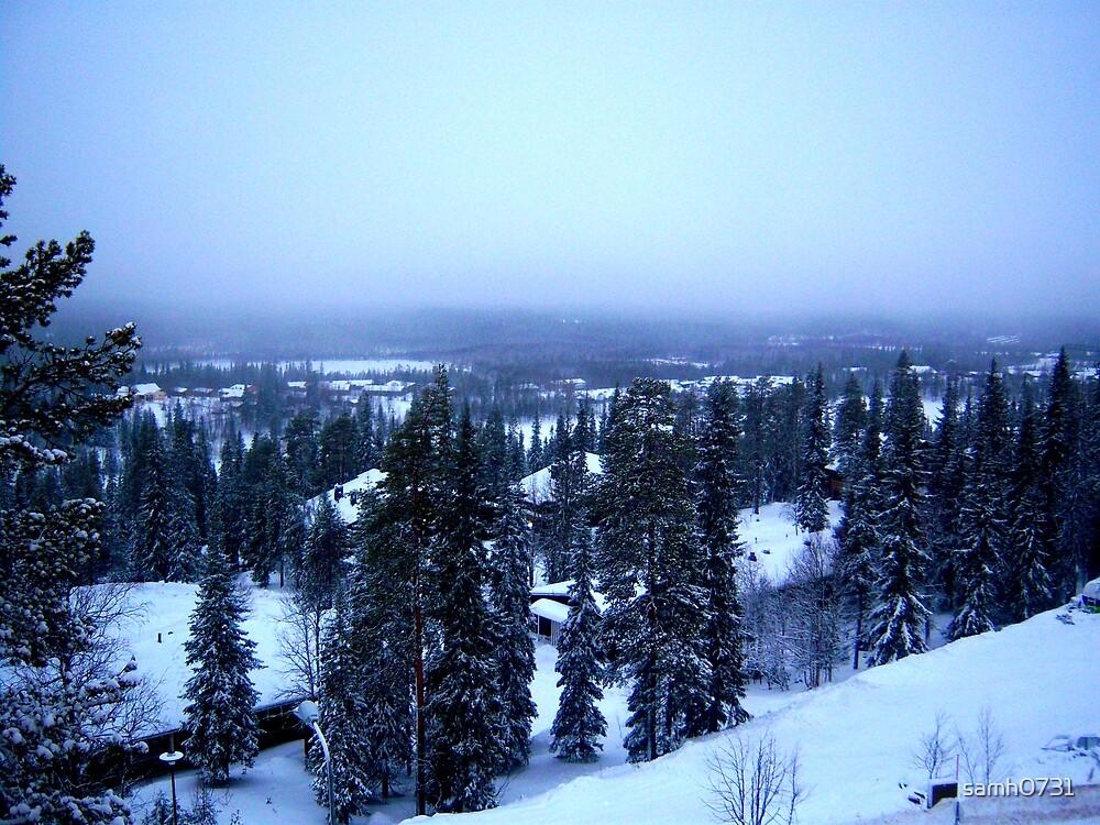 Snow in Ruka by samh0731