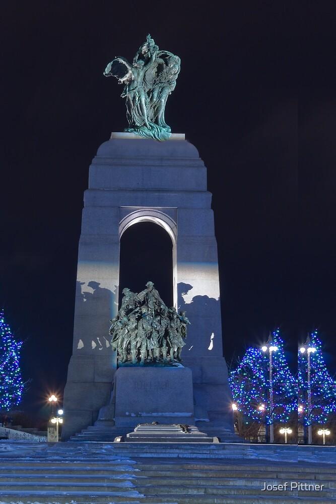 War Memorial - Ottawa, Canada by Josef Pittner