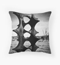 Simi's Field 01 Throw Pillow