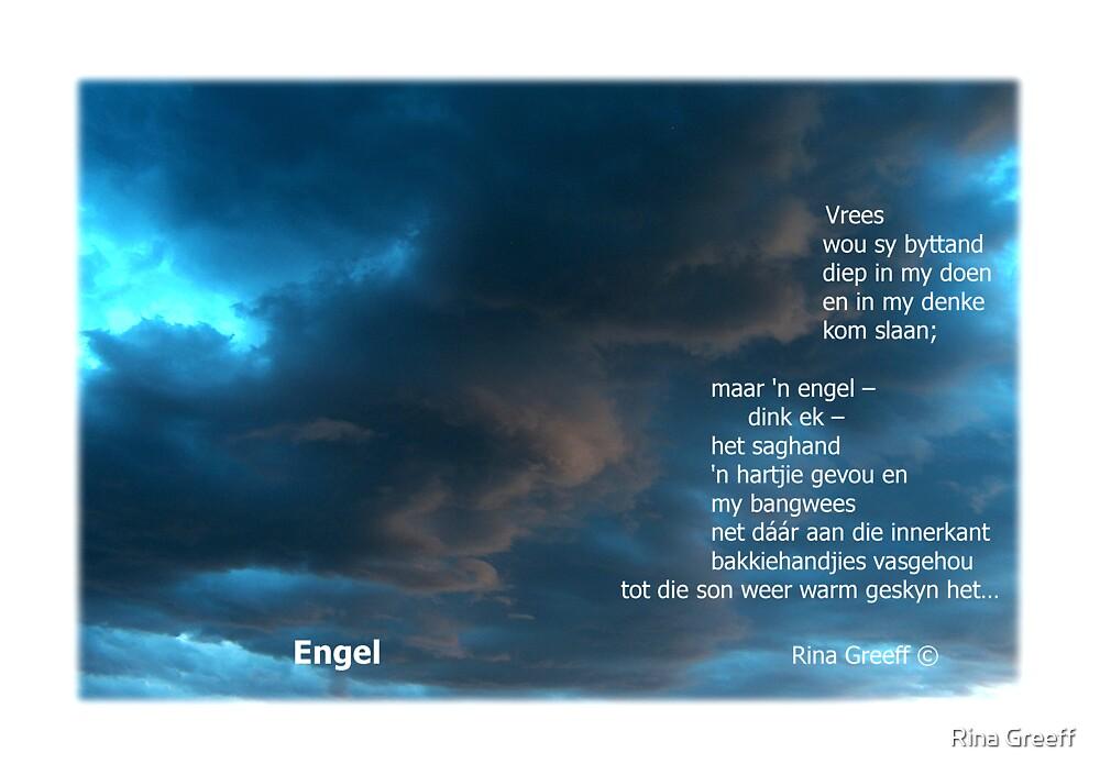 Engel - 'n wolkgesiggie by Rina Greeff