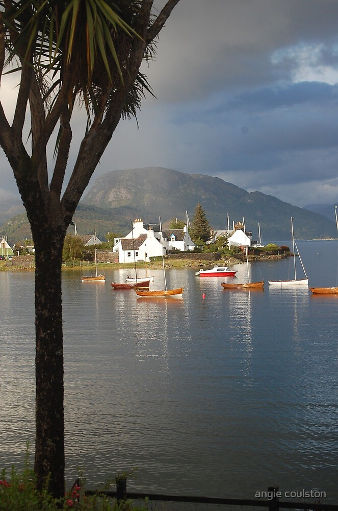 Plockton - Scottish highlands by angie coulston