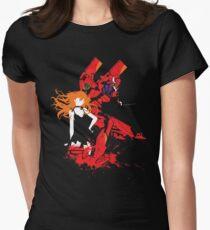 Evangelion Unit-02 Women's Fitted T-Shirt