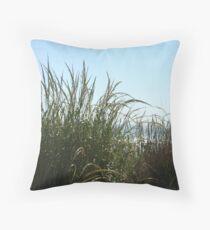 Narragansett Dunes- Beach Grass Throw Pillow