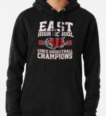 East High School State Basketball Champions Pullover Hoodie
