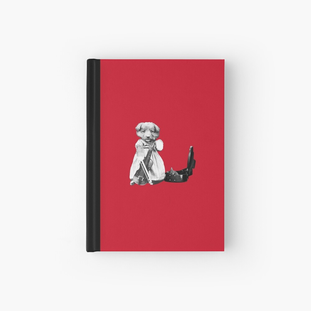 The Cellist Hardcover Journal