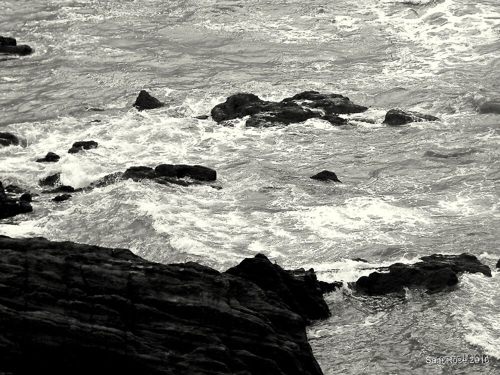 Devon Sea  by roses1000