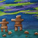 Watching the Dancing Sky by Kayleigh Walmsley