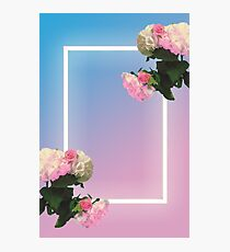 Blue/Pink the 1975 Photographic Print