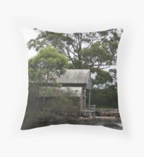 Huskisson Fishery, Australia Throw Pillow