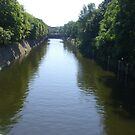 a river in berlin by Sebastian Kaiser