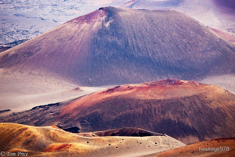 Closeup Detail of the Mount Haleakala Volcano, Maui by hawkeye978