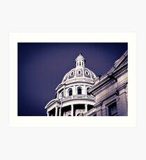 Denver State Capitol Building Art Print