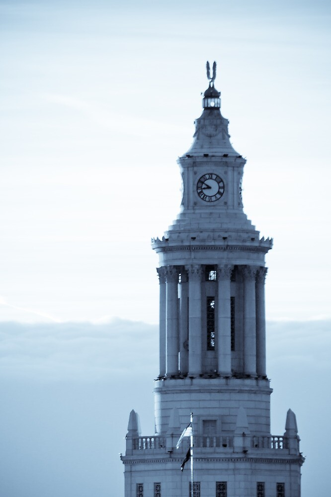 Denver Civic Center Clock Tower by pandapix