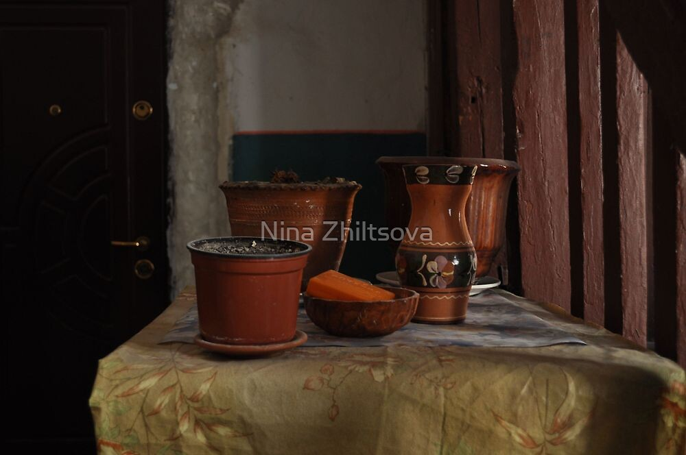Lvov - Behind The Front Door by Nina Zhiltsova