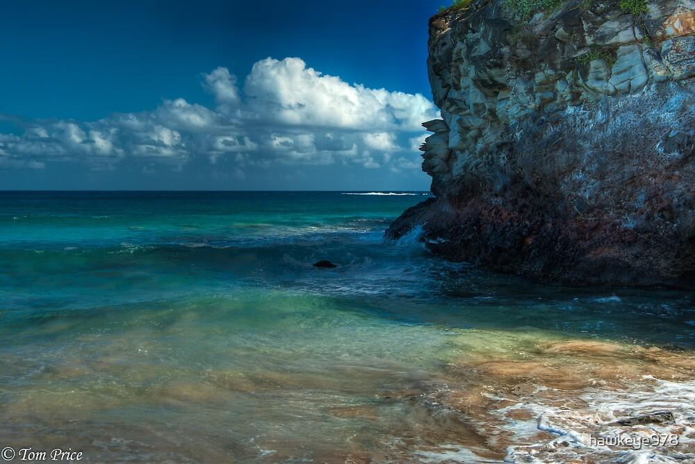 Kapalua Beach Cliffs by hawkeye978