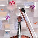 Playing the Violin by Jennifer Frederick