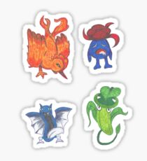 Pokemon Set!! Sticker
