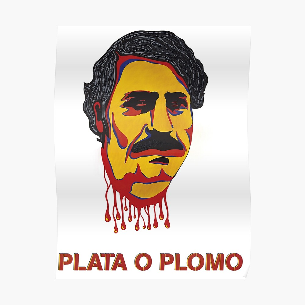 """""""Pablo Escobar"""" Poster By Ckesigns"""