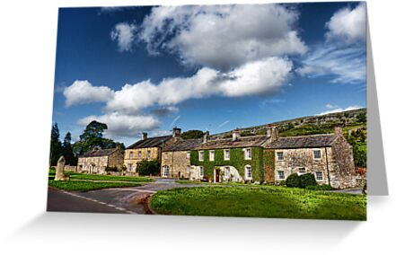 The Cottages Arncliffe by Colin Metcalf
