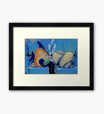 Deep Blue Sea Framed Print