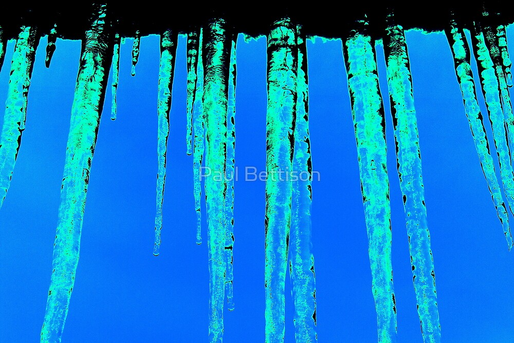 ICICLES by Paul Bettison