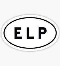 Euro Sticker - ELP - El Paso International Airport Sticker