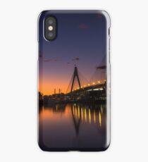 Anzac Bridge Sunset iPhone Case/Skin