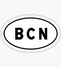Euro Sticker - BCN - Barcelona–El Prat Airport Sticker