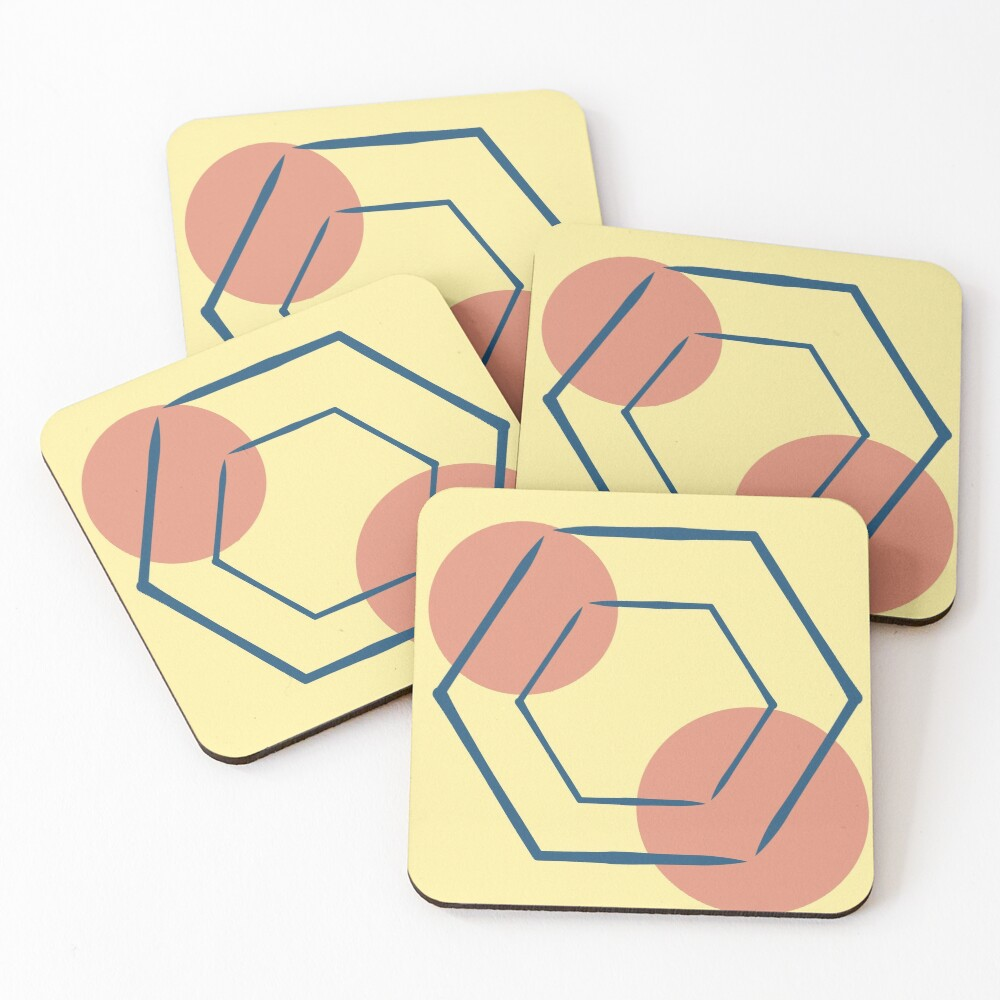 Space  Coasters (Set of 4)