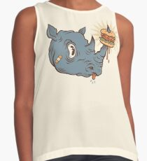 Rhino Burger YUM! Sleeveless Top