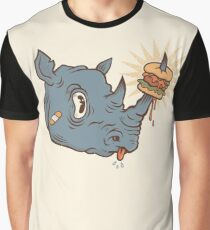 Rhino Burger YUM! Graphic T-Shirt
