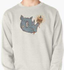 Rhino Burger YUM! Pullover Sweatshirt